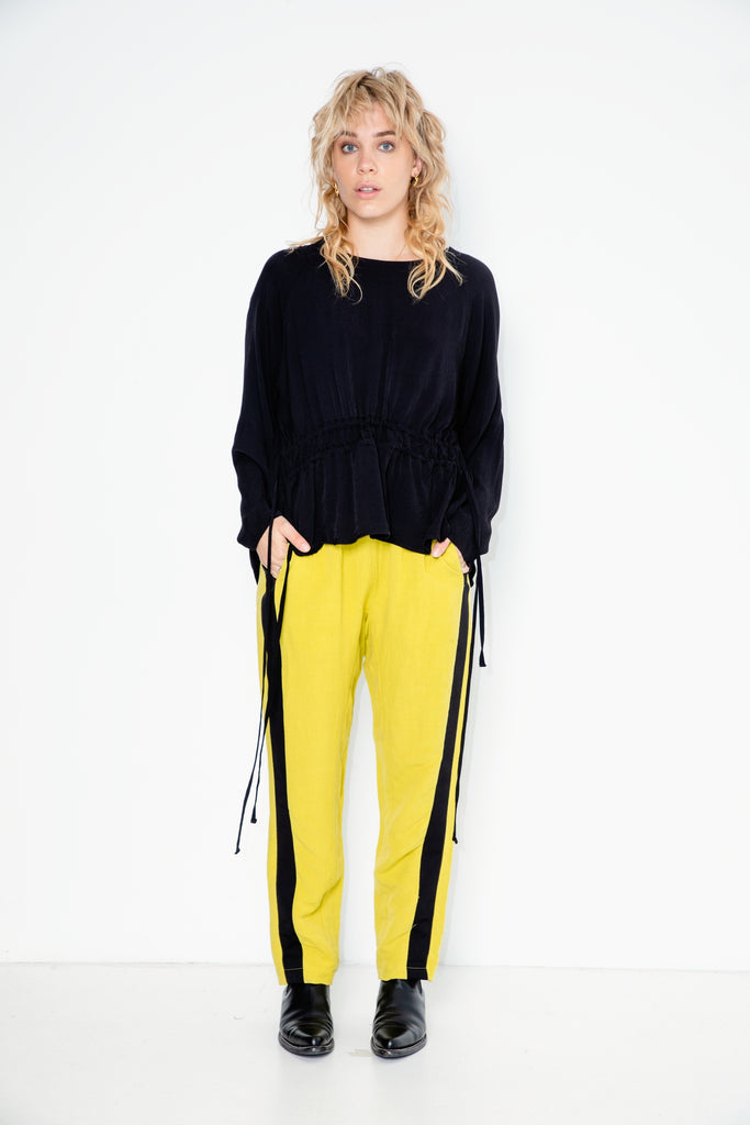 Accelerate Trackies | Chartreuse Linen