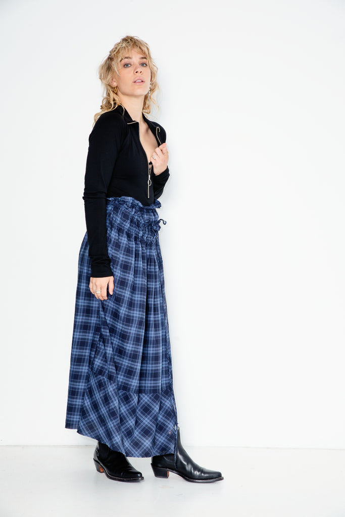 Wild Heaven Skirt | Cotton Plaid - Company Store