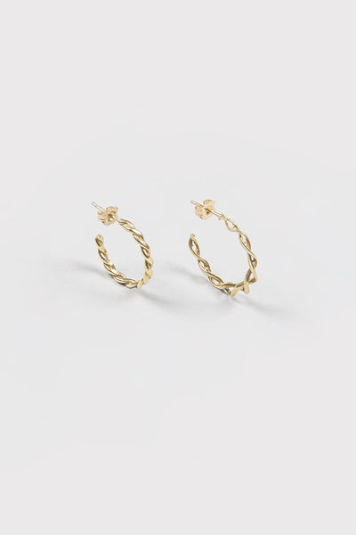DNA Hoops | Gold
