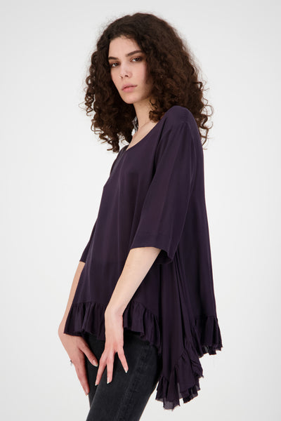 Disarray Top | Plum