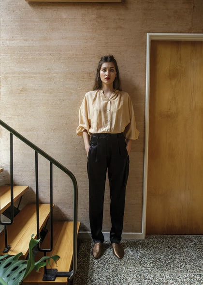 Everyday Blouse | Camel
