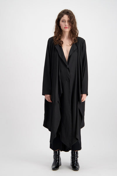 Ghost Coat | Black