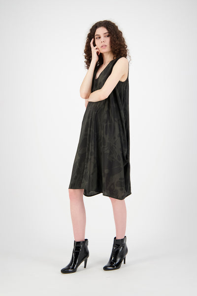 Hera Dress | Grey/Black