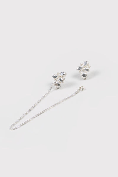 Lady Chain Earrings | Sterling Silver