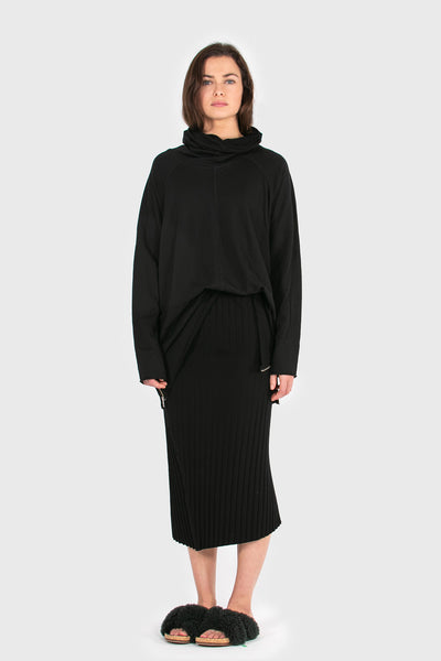 COS Turtleneck - Black Merino