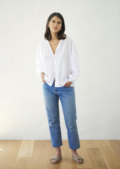 Everyday Blouse | White