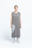 Shin Shapes Singlet Dress | Grey