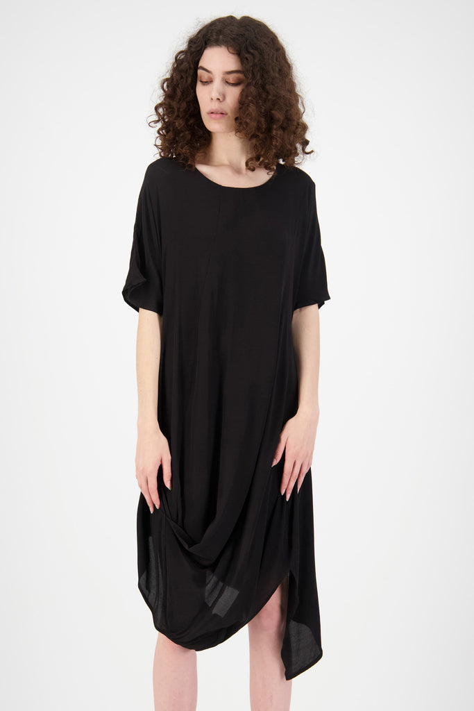 Slant Dress | Black