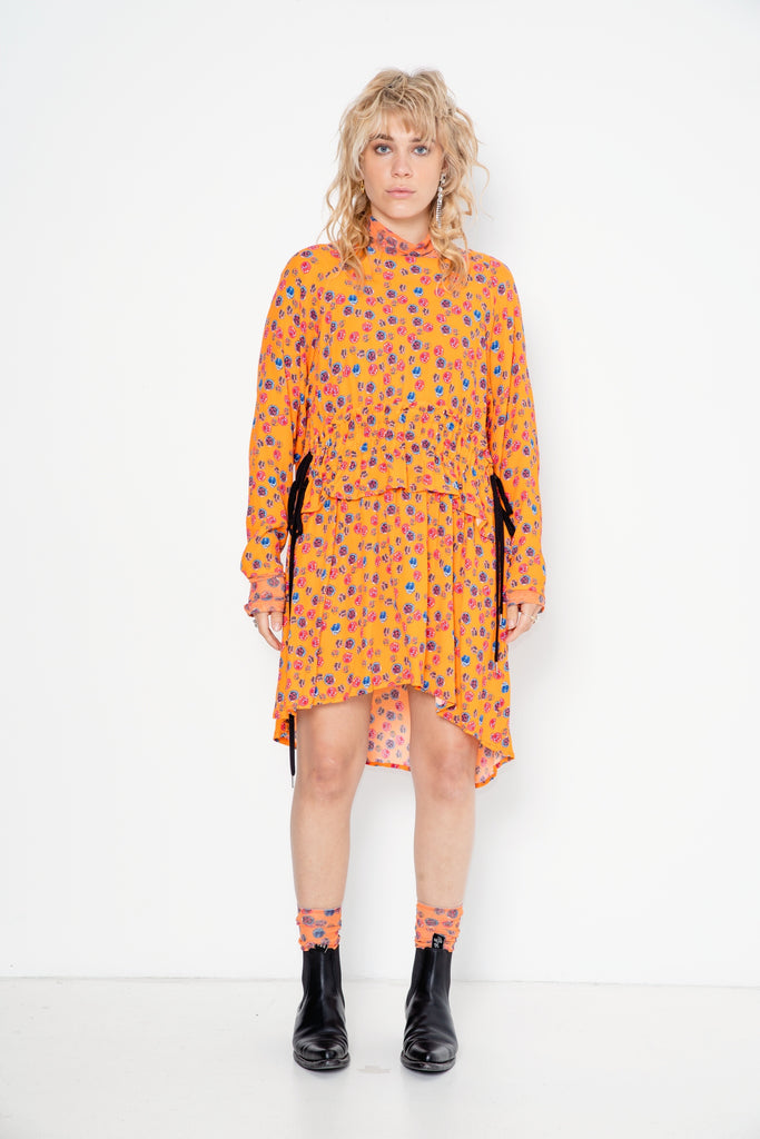 Star 69 Tunic | Baby Bright Faces Print