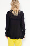 So Fast Sweater | Black Georgette - Company Store