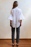 Bow Blouse | White