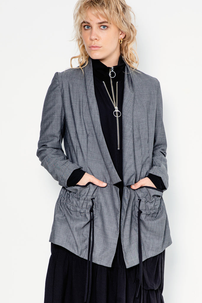 Night Swimming Jacket | Charcoal - Company Store