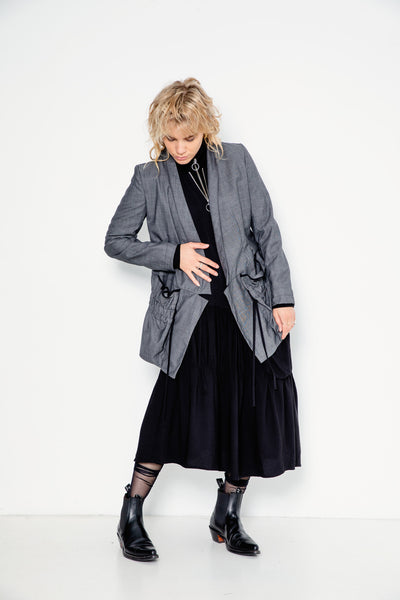 Night Swimming Jacket | Charcoal