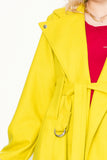 Departure Coat | Chartreuse - Company Store