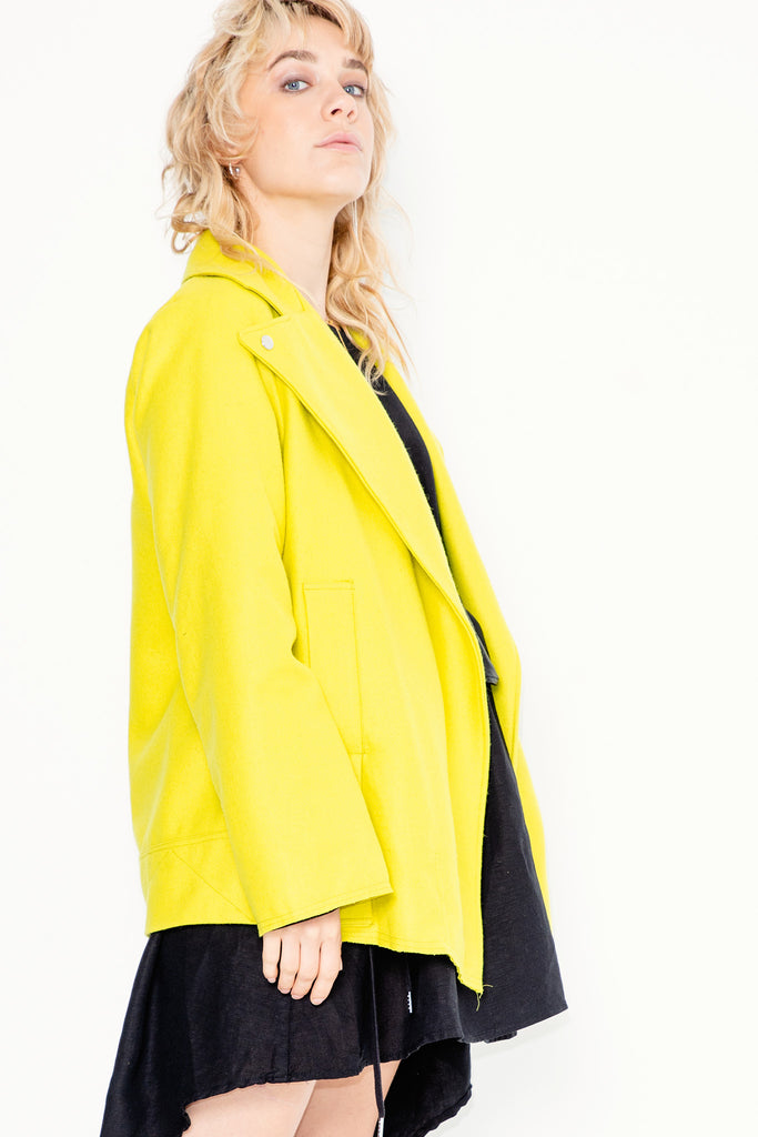 Imitation Jacket | Chartreuse