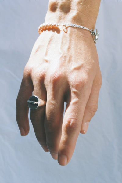 Mini Reverence Ring | Sterling Silver
