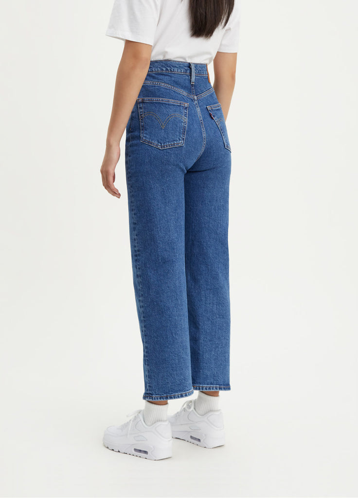 Ribcage Straight Ankle Jeans | Georgie