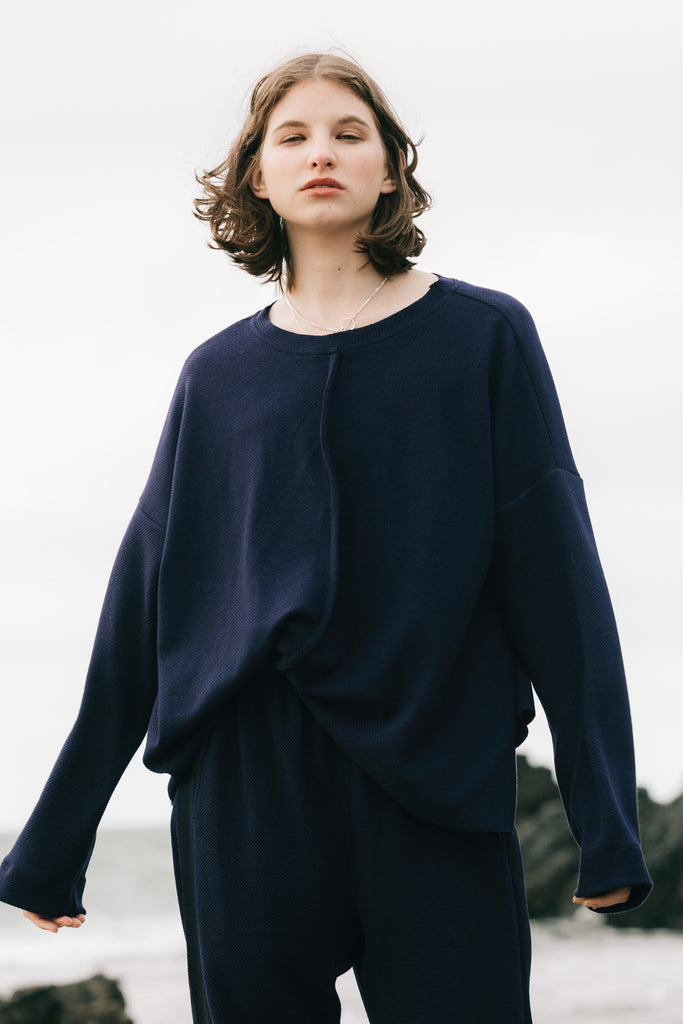 Base Sweater | Ink Jersey - Company Store