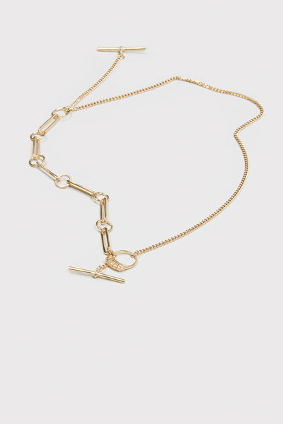 Living End Necklace | Gold