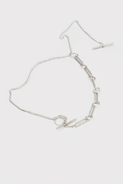 Living End Necklace - Sterling Silver