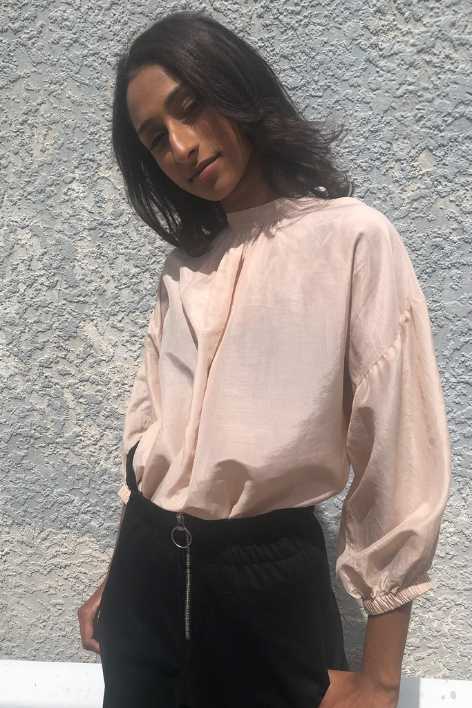 Dont Tie Me Down Blouse | Blush - Company Store