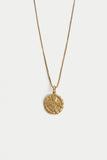 Medallion Necklace | Gold