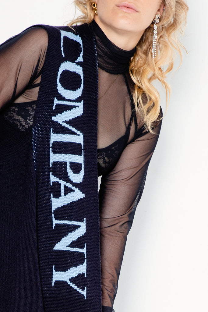 Blame Scarf | Midnight/Blue