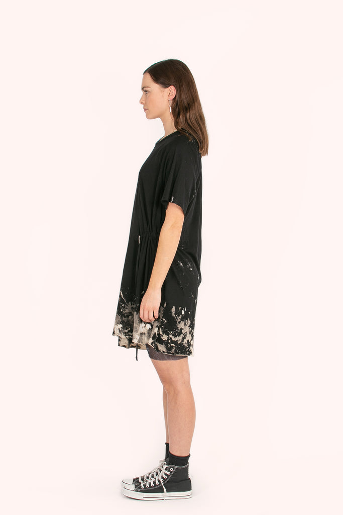 Montezuma Tee Dress | Burnt Black