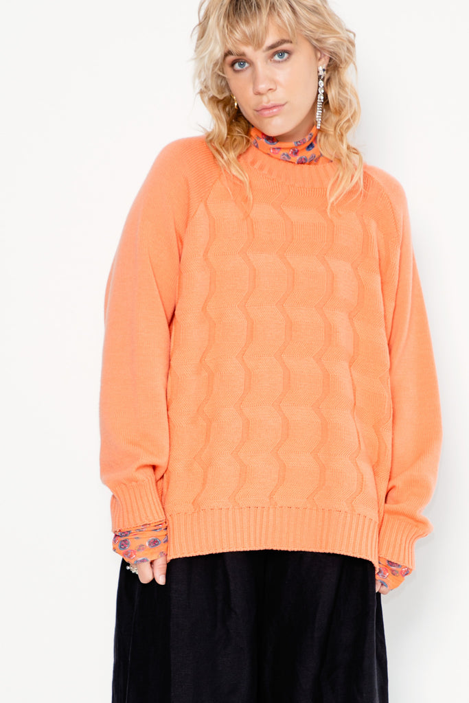 Frequency Sweater | Peach - Company Store