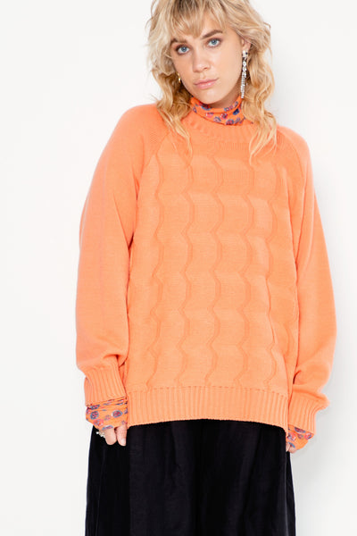 Frequency Sweater | Peach