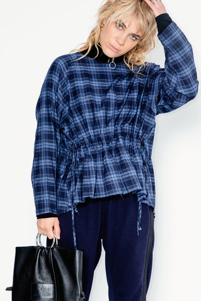 Belong Sweater | Cotton Plaid