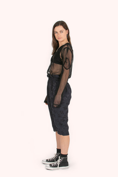 Plains Shorts | Midnight Jacquard