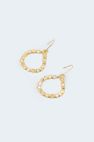 Queen Conch Hoops - 18ct Gold