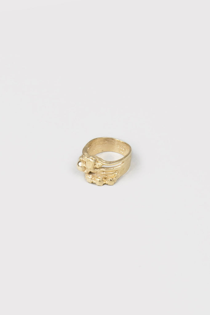 Till Death Do Us Part Ring | Gold