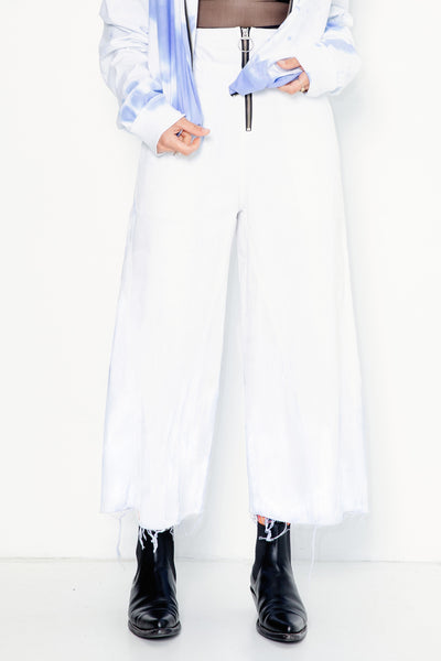 Shiny Happy People Pants | White Denim