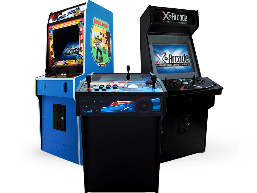 Arcade Machine Cabinets By X Arcade Lifetime Warranty