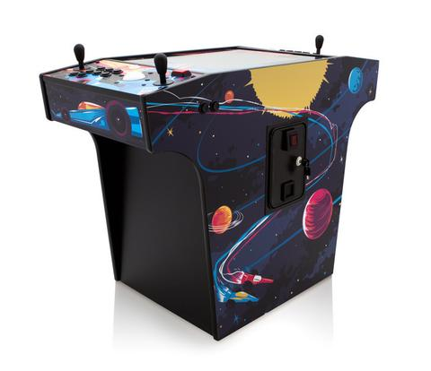 Space Race Cocktail Arcade Cabinet