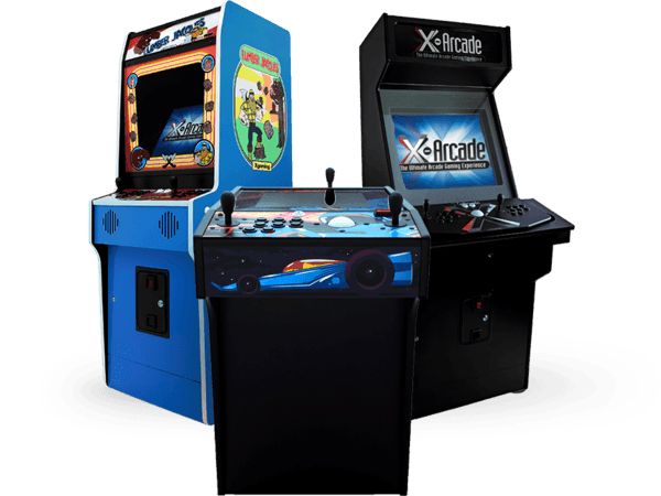 X-Arcade Machine Cabinet 250+ Included Classic Games | Xgaming X ...