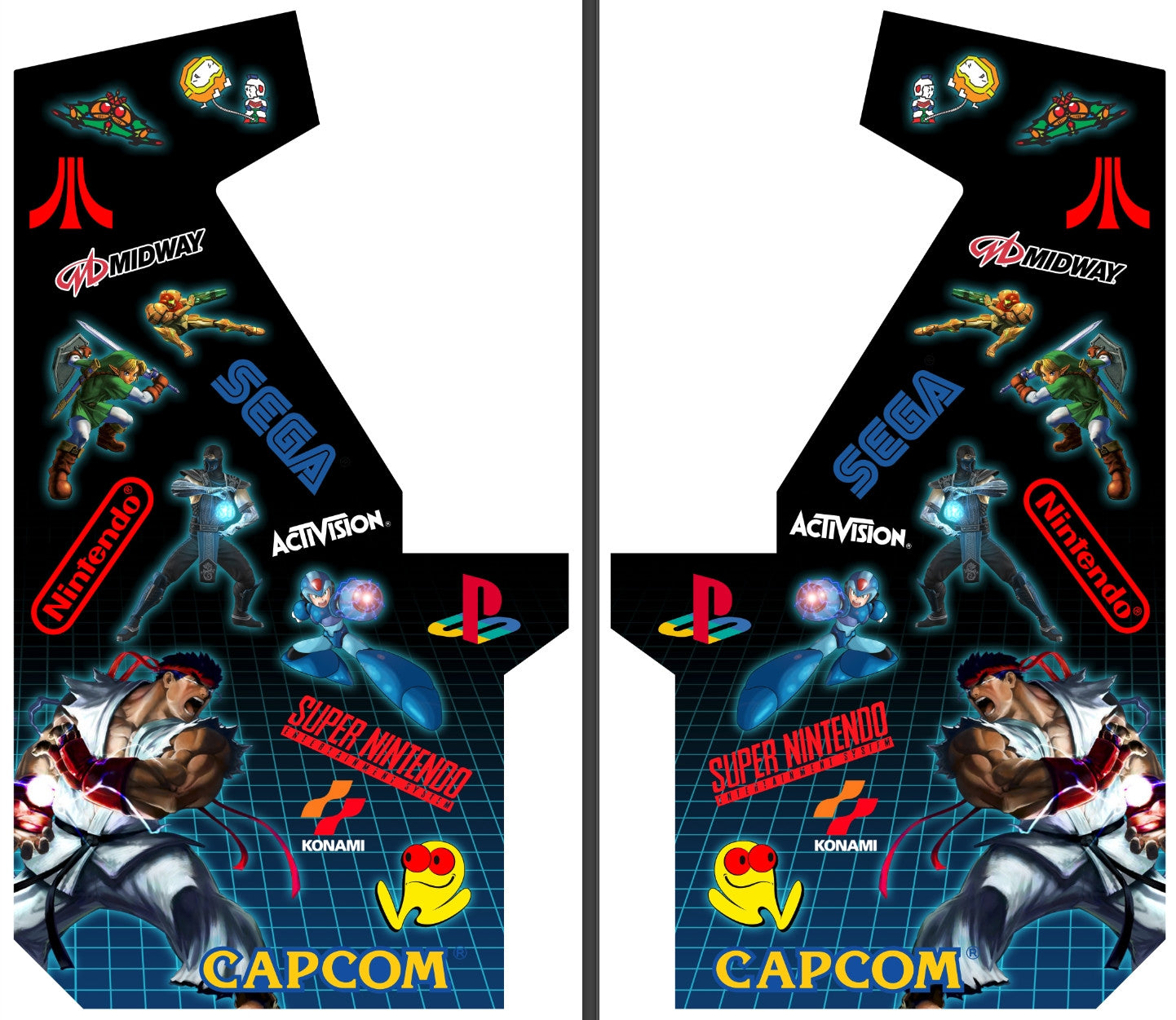 Custom Artwork for X-Arcade Machine (4 Week Lead Time)