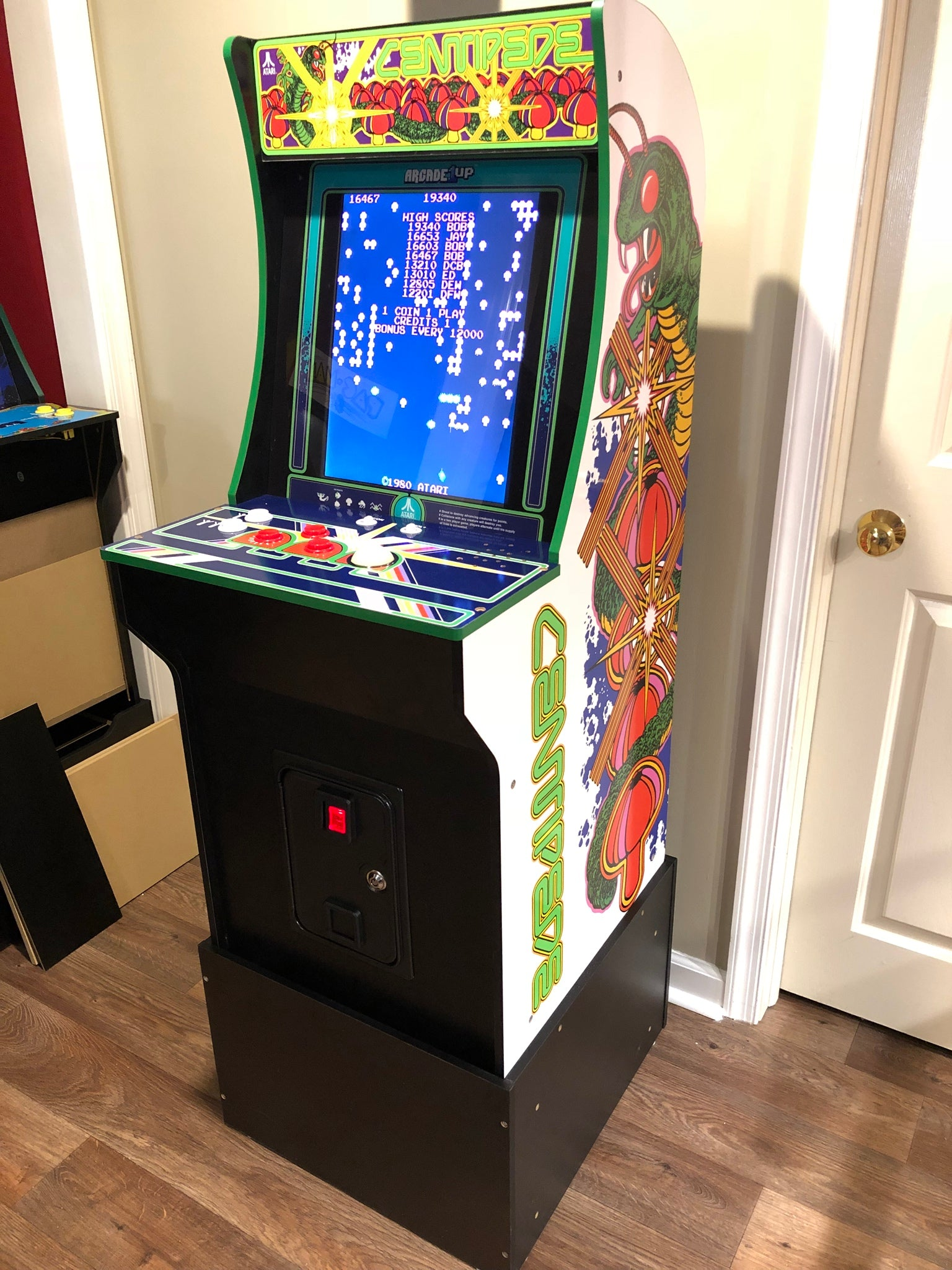 Arcade1up Coin Door From Xgaming