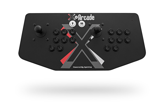 X-Arcade Dual Joystick: With USB
