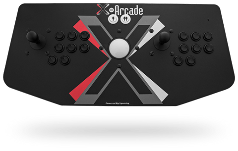 X-Arcade Tankstick With Trackball: Trimode USB