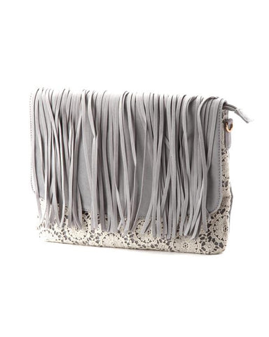 Fringe Cross-body Bag