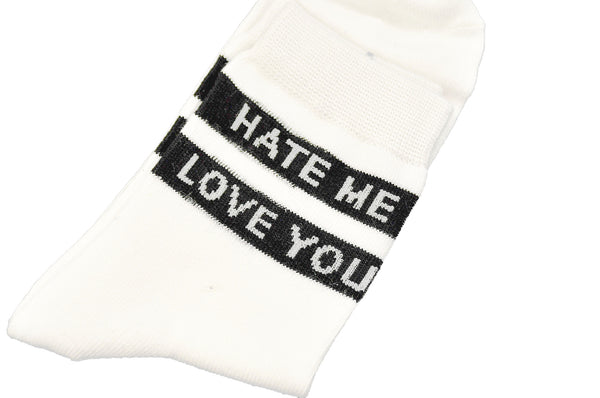 Hate Me Love You Socks