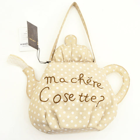 Polka Dot Teapot Bag
