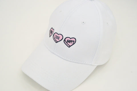 Conversation Hearts Hat