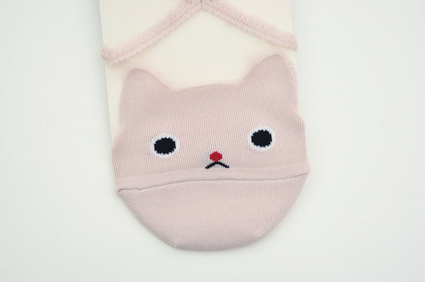 Leisurely Diamond Cat Socks