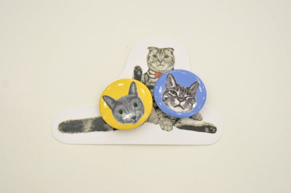 Cat Button Set