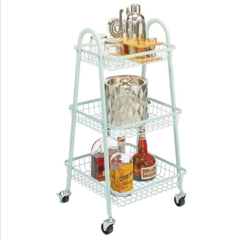 Muscular Stainless Steel Tray (3 Tier)