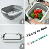 Mildew Washing Basket Cutting Board - waseeh.com